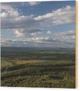 Connecticut River Mount Holyoke Wood Print