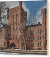 Connecticut Street Armory 3997a Wood Print
