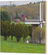 Connecticut Windmill. Wood Print