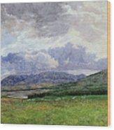 Connemara Mountains Wood Print
