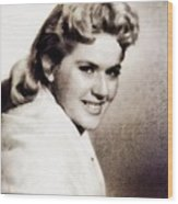 Connie Stevens, Vintage Actress Wood Print