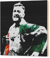 Conor Mcgregor Wood Print