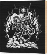 Conqueror Wood Print