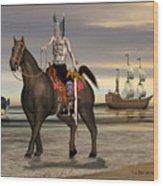 Conquistador Wood Print