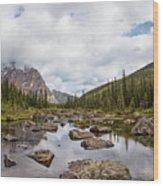 Consolation Lake Banff Wood Print