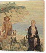 Consolation Of Ariadne Wood Print