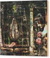 Conspiracy Of Silence Wood Print