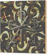 Conspirators Of The Crown Wood Print