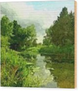 Constable Country Wood Print by Wu Wei