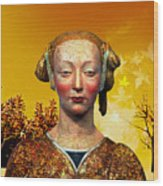 Constance  Wood Print