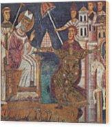 Constantine I (c280-337) Wood Print