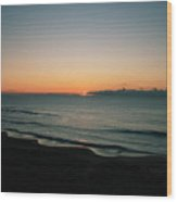 Constantine Sunset Wood Print by Carl Whitfield