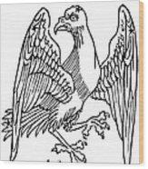 Constellation: Aquila Wood Print