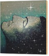 Constellation Of Dreams Wood Print by Paulo Zerbato