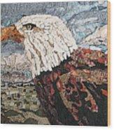 Consumer Eagle Veiw  Wood Print