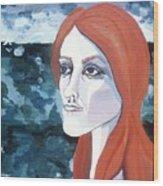 Contemplation Of Serenity Wood Print by Pamela Maloney