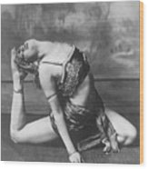Contortionist Wood Print by General Photographic Agency