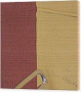Contrasting Colors Wood Print