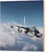 Convair B-58 Hustler Wood Print