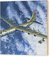 Convair B36 - Oil Wood Print