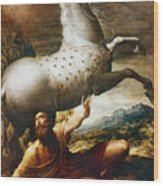 Conversion Of St. Paul Wood Print