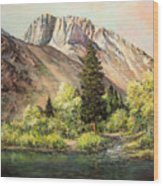 Convict Lake In May Wood Print