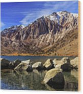 Convict Lake Wood Print