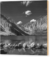 Convict Lake Near Mammoth Lakes California Wood Print by Scott McGuire
