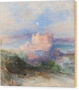Conway Castle Wood Print