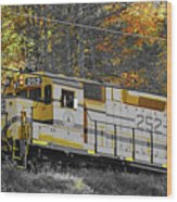Conway Scenic 252 Wood Print