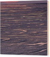 Cook Inlet Sunset Wood Print