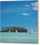 Cook Islands, Rarotonga Wood Print