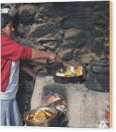 Cook Wood Print