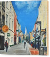 Cook Street   Cork Ireland Wood Print