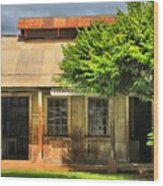 Cookhouse Theater Lahaina Wood Print