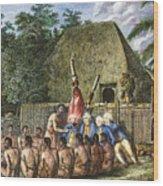 Cook:sandwich Islands 1779 Wood Print