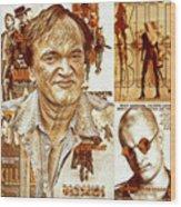 Cool Tarantino Poster Wood Print