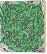 Cool Tropic  Wood Print