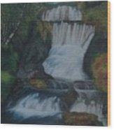 Cool waters Wood Print