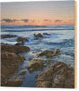 Coolum Dawn Wood Print