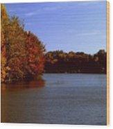 Coonhunter's Lake Wood Print