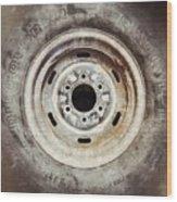 Cooper Discoverer Radial Lt Tire Wood Print