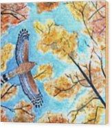 Cooper's In Autumn Wood Print
