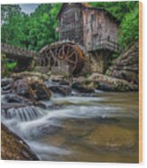 Coopers Mill Wood Print