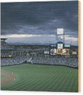 Coors Field, Denver, Colorado Wood Print