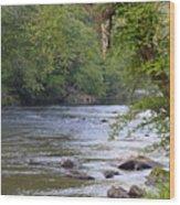 Coosawattee River Wood Print
