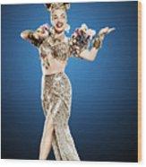 Copacabana, Carmen Miranda, 1947 Wood Print by Everett