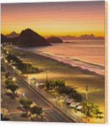 Copacabana Wood Print
