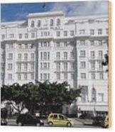 Copacabana Palace Wood Print