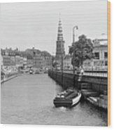 Copenhagen Canal 1 Wood Print